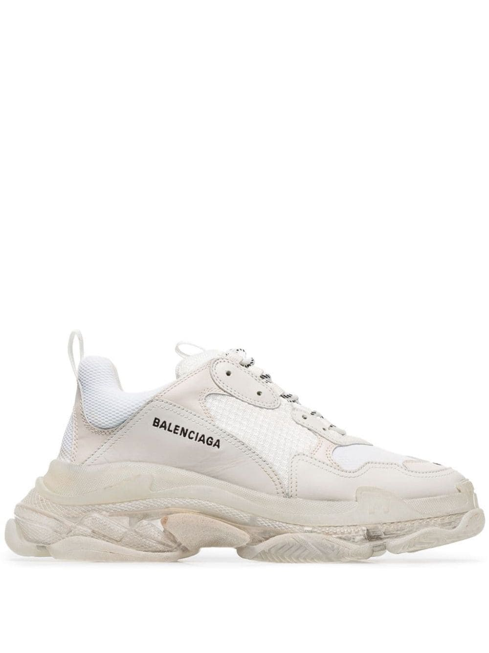 balenciaga triple s white